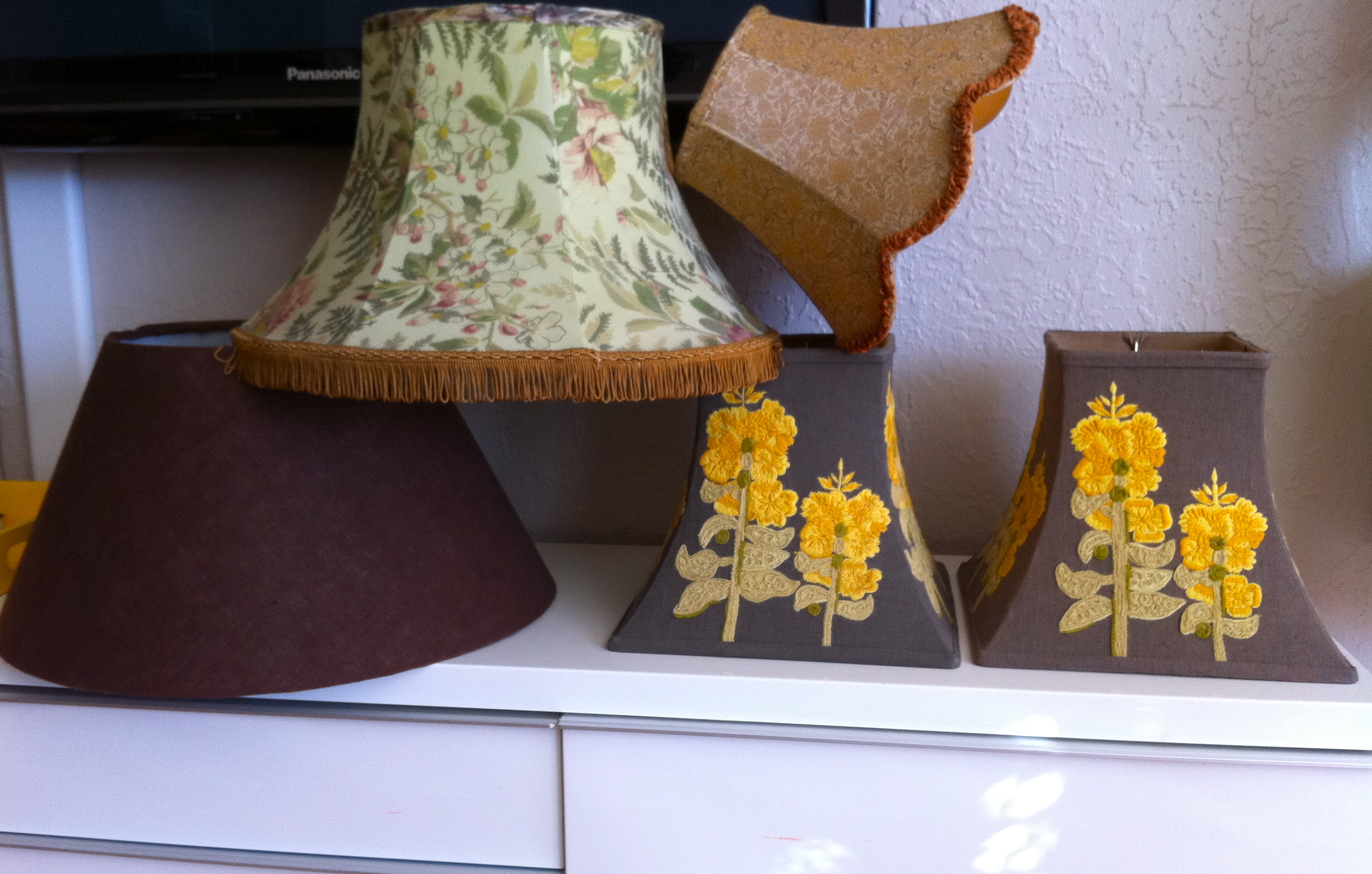 anthropologie lamp shades for sale pomp and circumstance. Black Bedroom Furniture Sets. Home Design Ideas