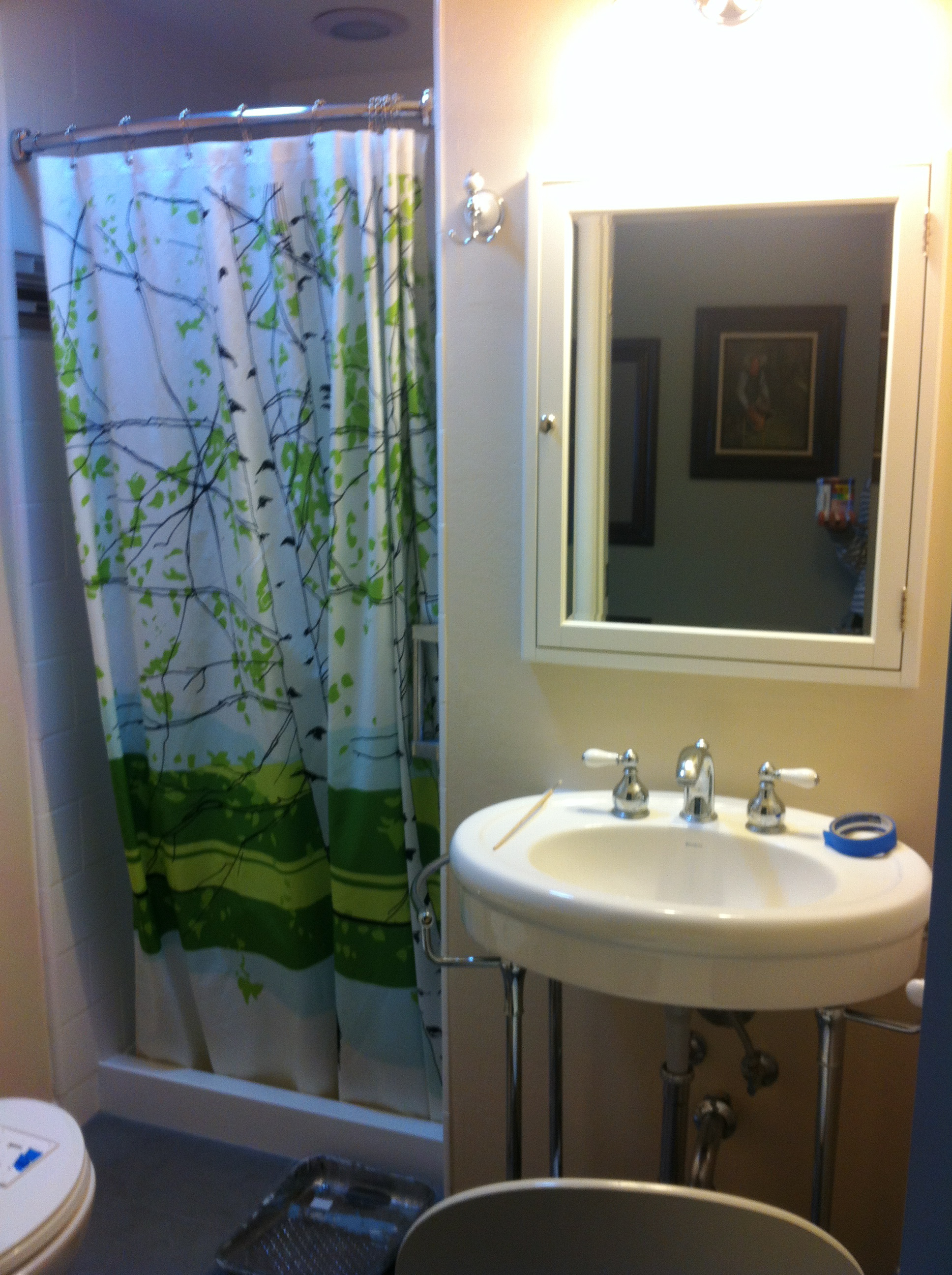 When We Got Back From Europe, Our Bathroom Was DONE. It Felt Like Christmas  Morning. We Had Just Gotten To Go On A Round The World Adventure, And Back  Home, ...