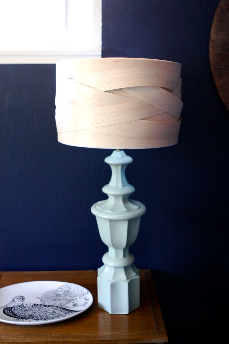 how to build wood lamp post