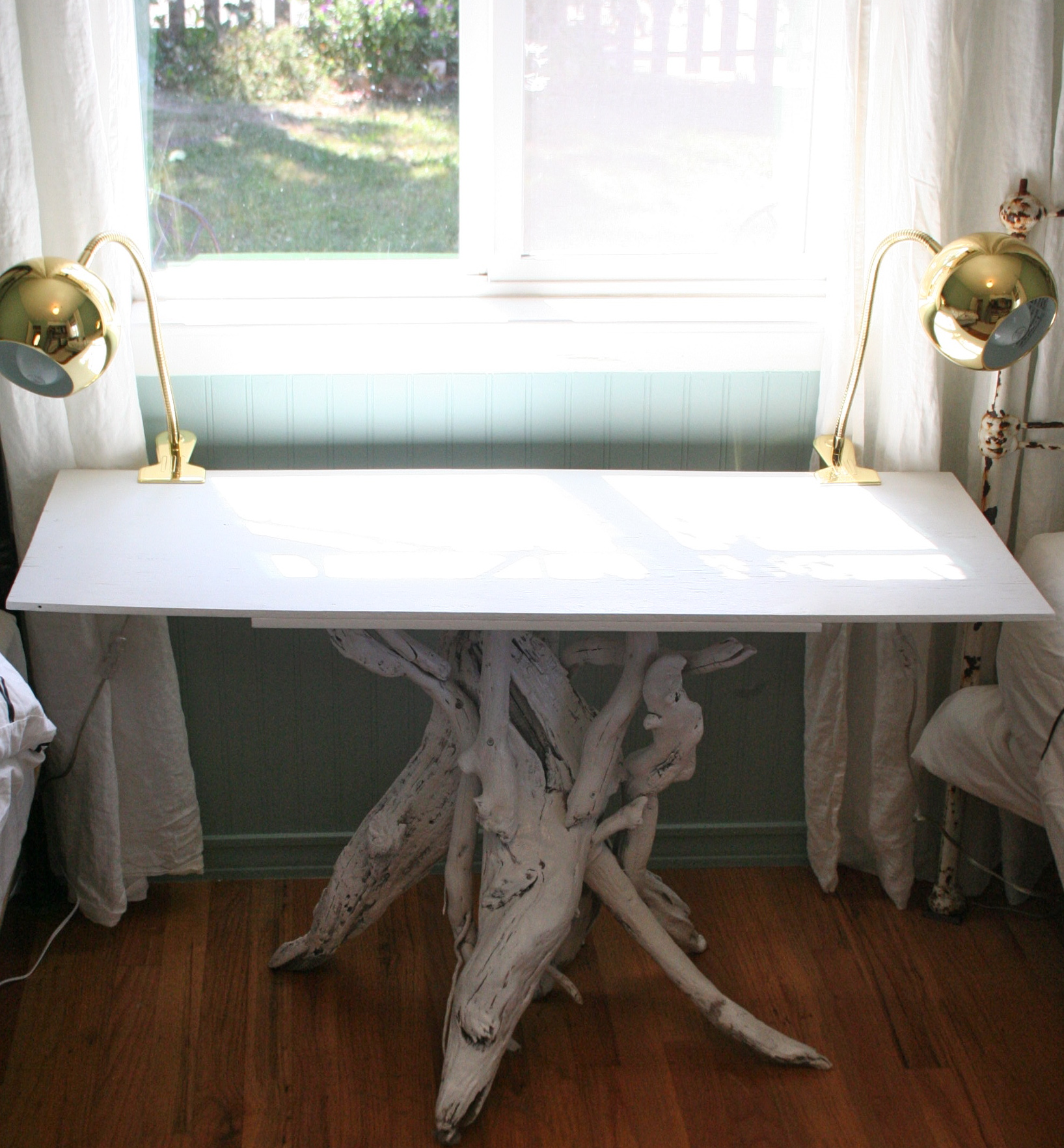 diy driftwood table pomp and circumstance