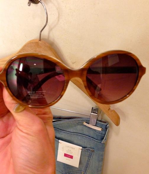 Anthropologie Rounded Horn Sunglasses