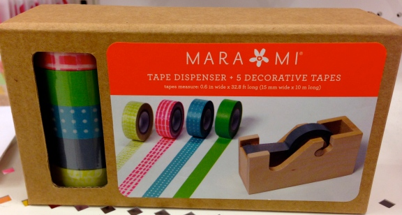 Mara Mi Wooden Tape Dispenser